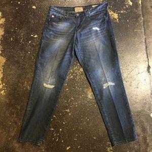 Dear John Jeans - Dear John Boyfriend Jeans 29 Distressed Denim